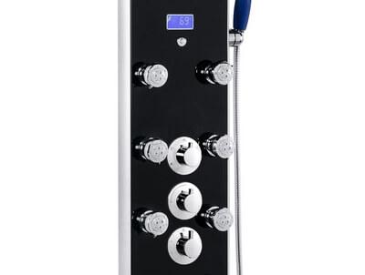 shower panel controls